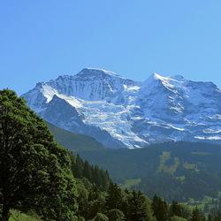 Jungfrau met Silberhorn