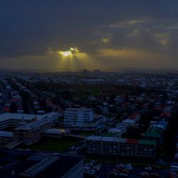 Reykjavik ontwaakt