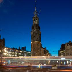 Tram Muntplein Amsterdam