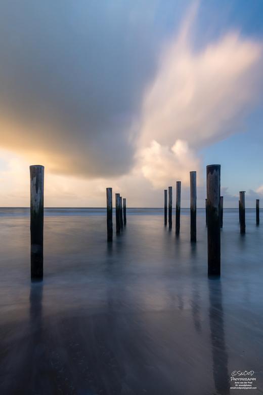 Palenportret - Hagel en regen buien getrotseerd om deze long exposure te maken op een hele leuke locatie in Nederland.