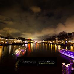 Winnende foto Amsterdam Light Festival 2013.