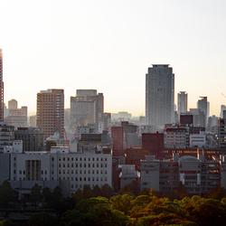 Hazy Osaka