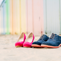 The Wedding Shoes Curacao style