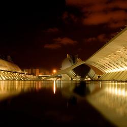 De nieuwe stad in Valencia