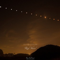 Red Skies' - Eclipse Time-lapse Montage