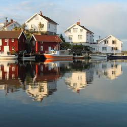 Gullholmen oude vissersdorpje