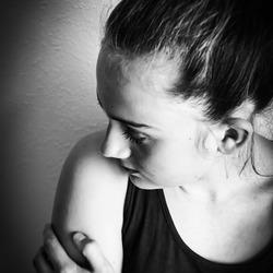 Portret in zwart/wit