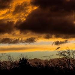 Deze ochtend prachtige wolken en licht