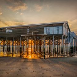 Strandclub Zee in HDR.