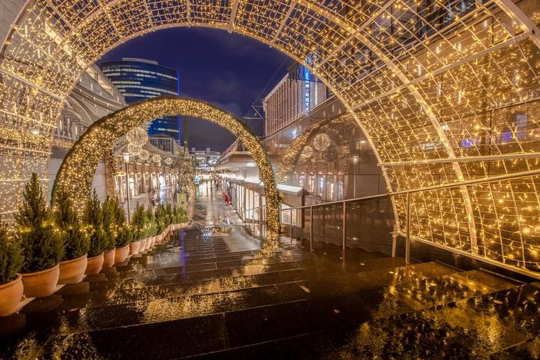 Christmas lights  - De Koopgoot in kerstsfeer