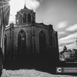 De grote kerk van Kampen