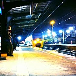 Aankomst trein