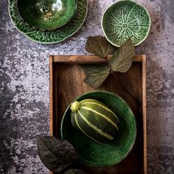 Compositie in groen