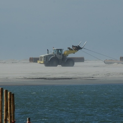 Aanleg zandmotor 2011