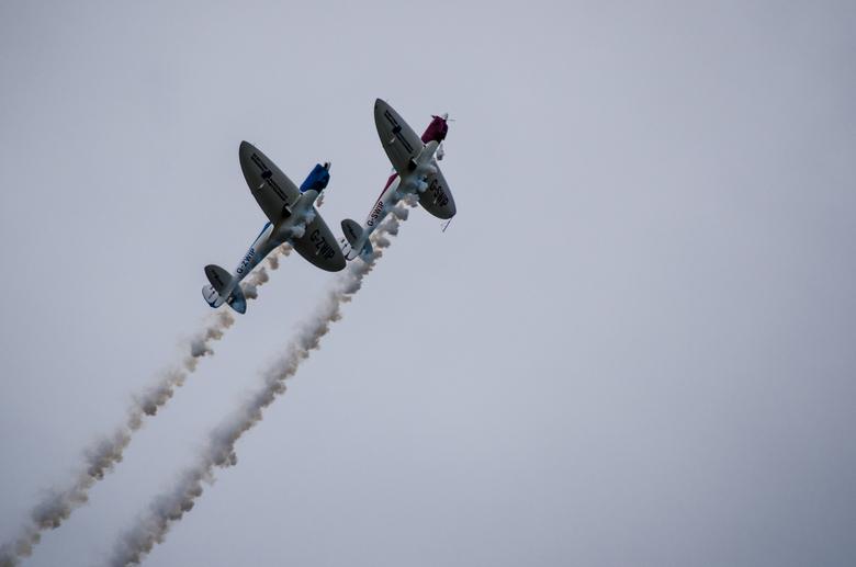 Volkel in de wolken - Foto genomen tijdens de vliegshow van Volkel in de wolken. Ondanks het slechtere weer, was het wel een mooie show.