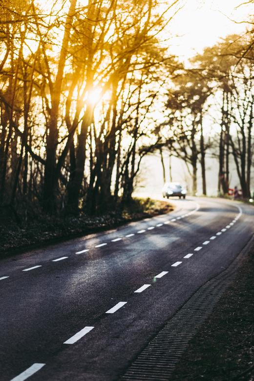 Cornering car - Cornering car - een heerlijke herinnering aan een heerlijk moment.