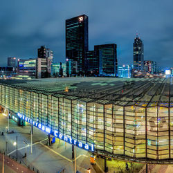 Panorama van Rotterdam Centraal