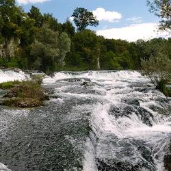waterval van Schaffhausen.