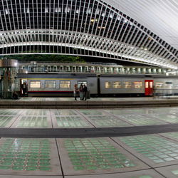 Liege-Guillemins panorama
