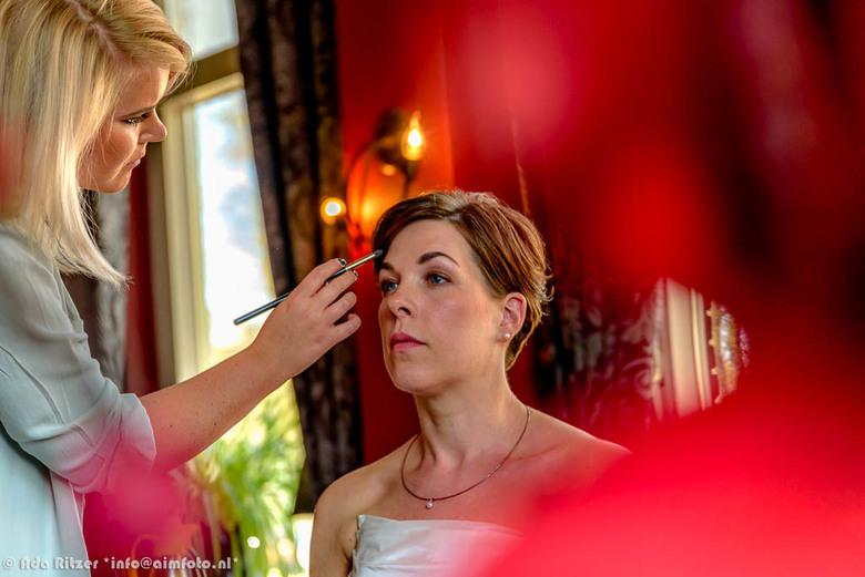 in de make-up