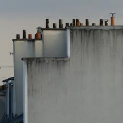 Schoorstenen Parijs