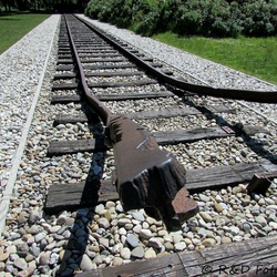 Treinspoor, kamp Westerbork