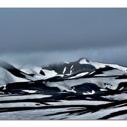 Sneeuwlandschap Ijsland