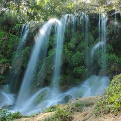 Watervallen Parque el Nicho, cuba