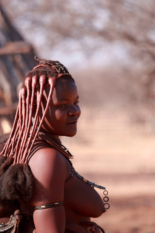 IMG_8964 - Himba vrouw in Namibie