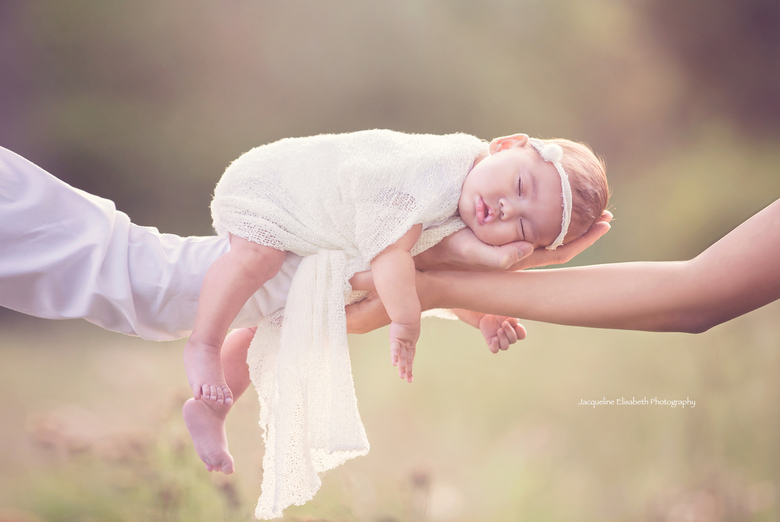 Baby in bloom