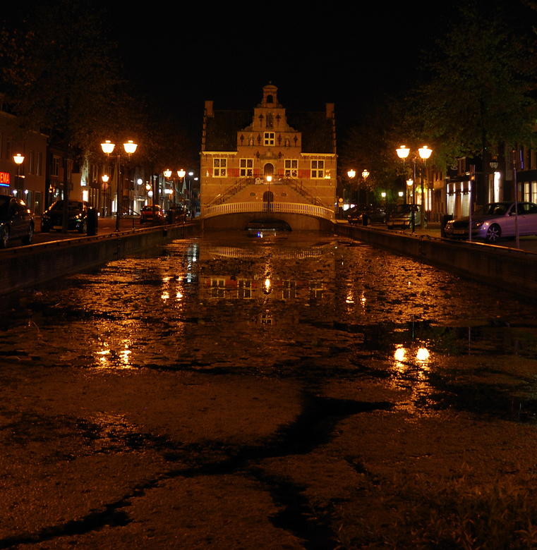 Oud Beijerland - avondfoto