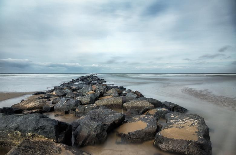 Naar de horizon - Foto ook gemaakt op het mooie Texel