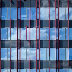 Architectuur gebouw Almere