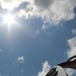 Een zonnige dag aan de Maasboulvaard