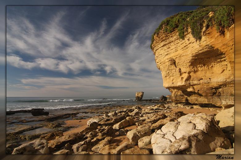 Olhos d'Agua - Vanmiddag teruggekomen van een weekje Portugal.<br /> Het weer was wisselvallig, maar beter dan hier........<br /> Ongeveer 17 graden