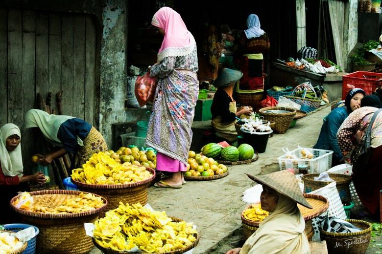Lokale markt op Java -