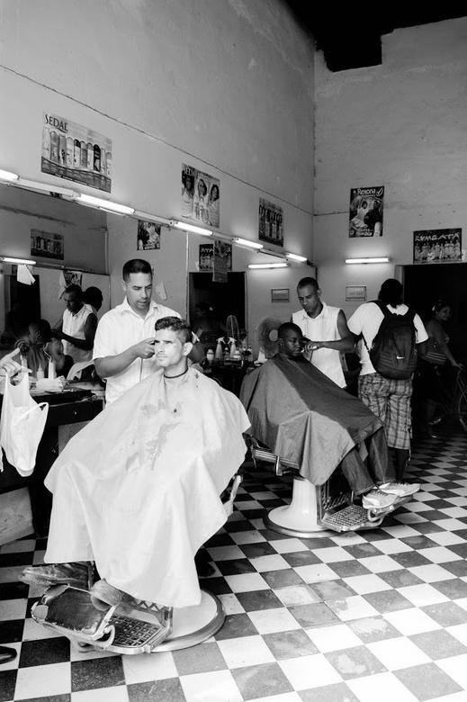 Cubaanse kapsalon