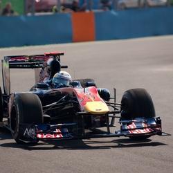 Sebastian Vettel Valencia 2010
