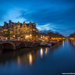 Blue hour Amsterdam