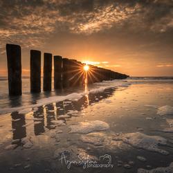 Goudgele strand van Ameland
