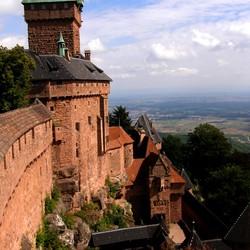 kasteel koenigsbourg/elzas