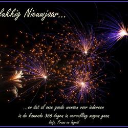 Gelukkig Nieuwjaar allemaal !!!!!