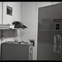 Comandokamer schuilkelder