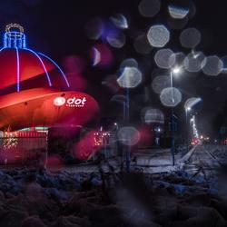 De grootste kerstbal van Nederland! DOT Groningen