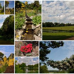 Collage Engelse tuinen