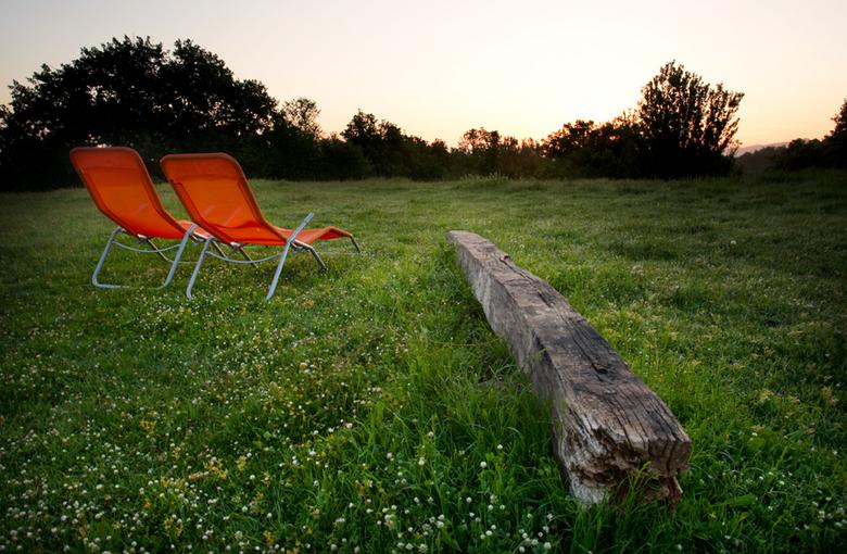 Toskane zonsopkomst - De zonsopkomst bij een B&amp;B in Toscane verleden week.<br /> groeten, Bert