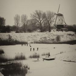 Veere in de winter