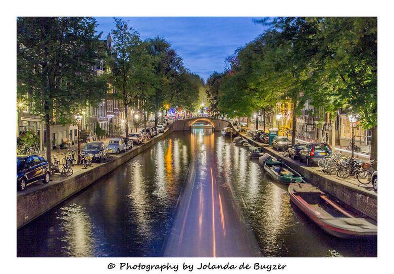 Citylights in Amsterdam - Overal lichtjes...Amsterdam