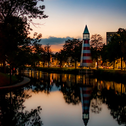 Vuurtoren in Breda