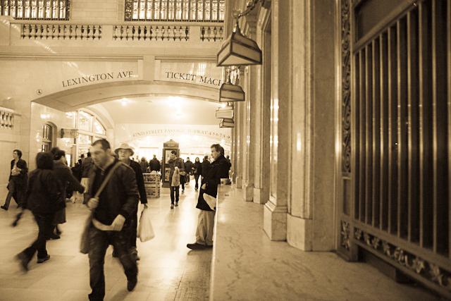 Grand Central - Het mooiste treinstation dat ik ken: Grand Central in New York.